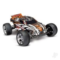 Traxxas Rustler 1:10 Orange Stadium Truck with TQ 2.4 GHz radio system